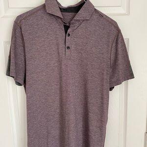 LULULEMON Metal Vent Tech Polo Shirt Short Sleeve